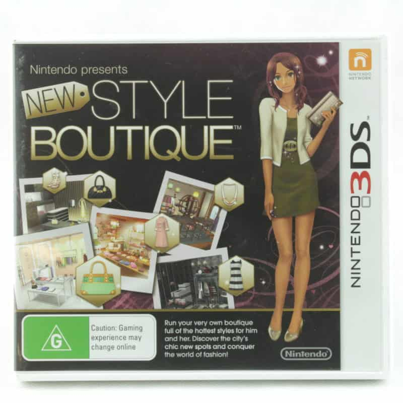 New Style Boutique (Nintendo 3DS)