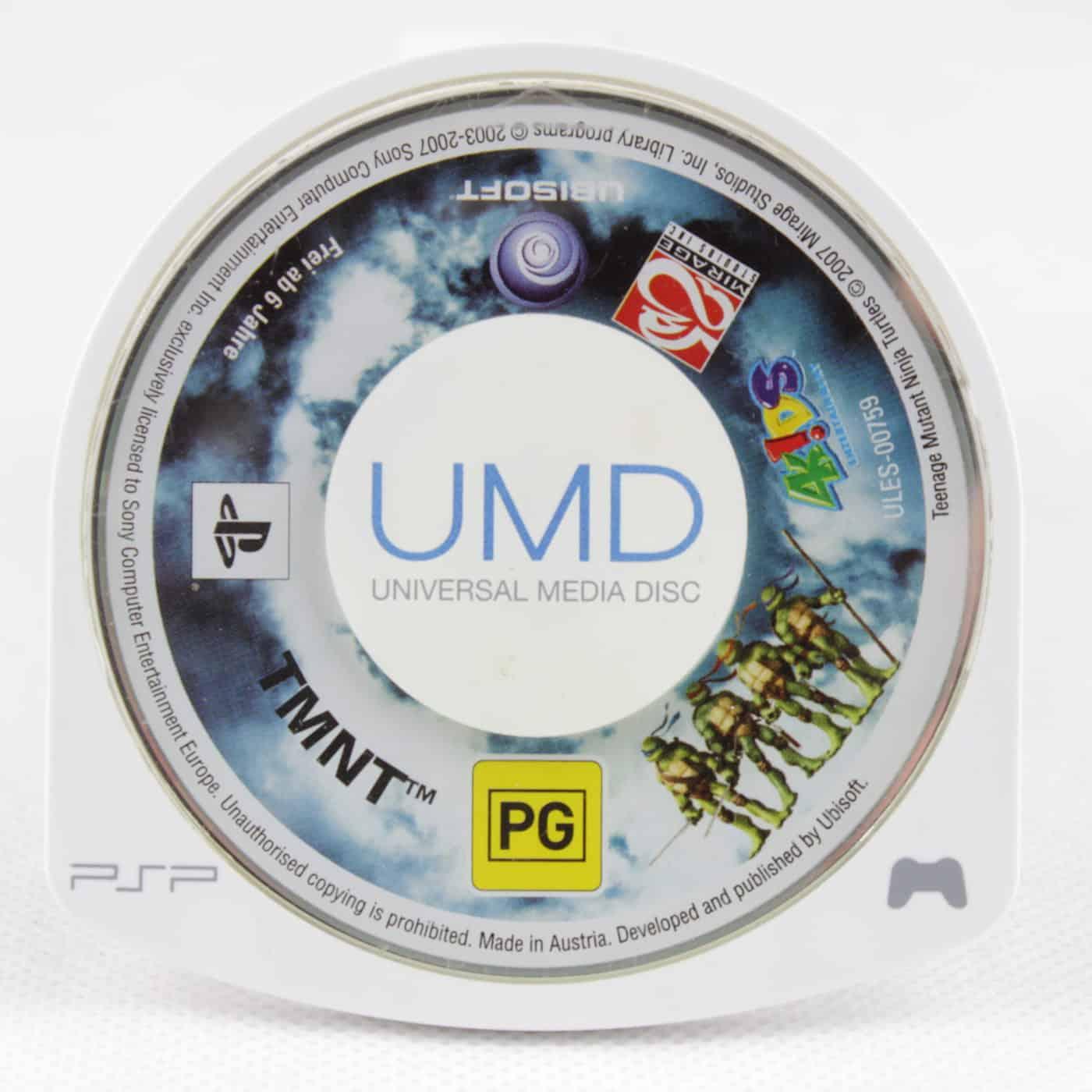 TMNT (Sony PSP - Løs spil)