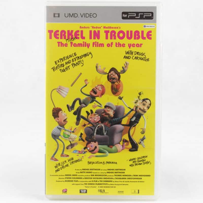 Terkel i Knibe / Terkel in Trouble (Sony PSP - UMD Video)