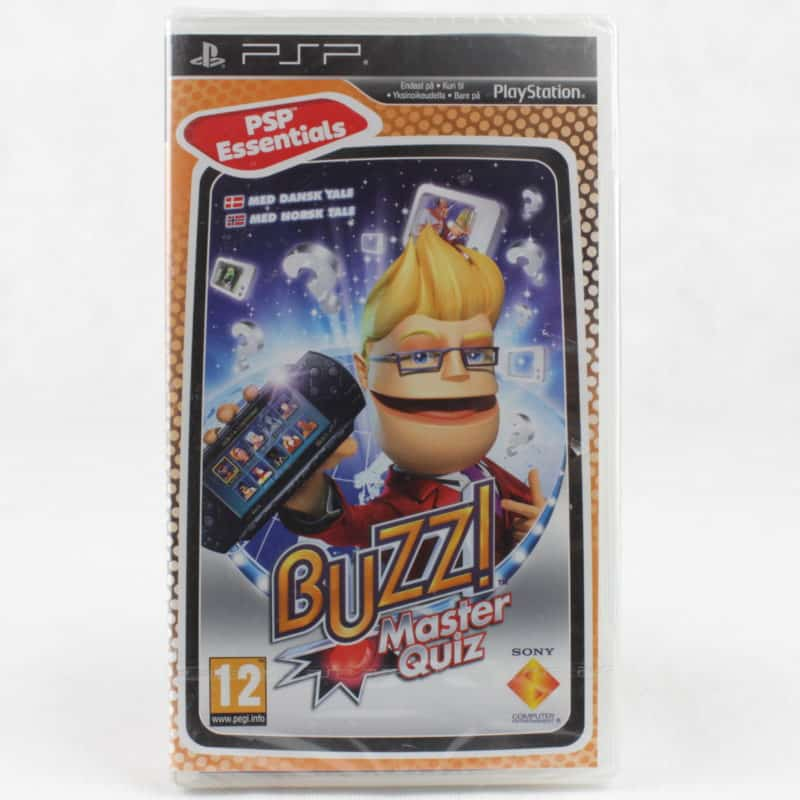 Buzz!: Master Quiz (Sony PSP - Essentials - Ny)