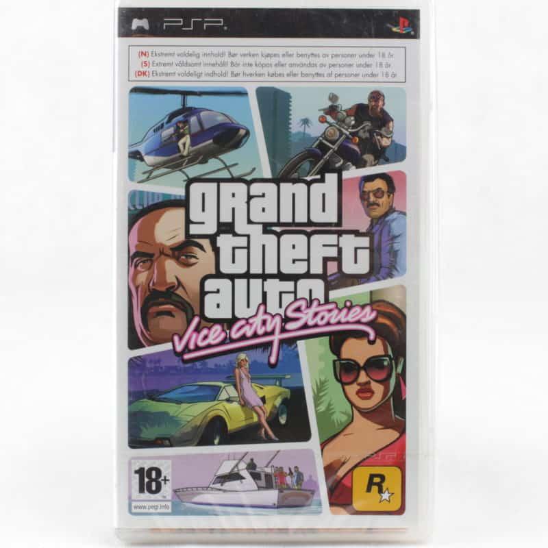 Grand Theft Auto: Vice City Stories (Sony PSP)