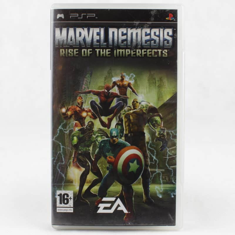 Marvel Nemesis: Rise of the Imperfects (Sony PSP)
