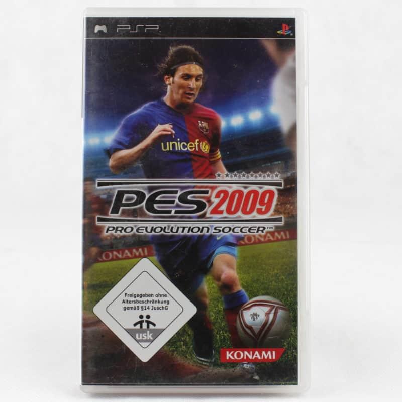 Pro Evolution Soccer 2009 (Sony PSP - Tysk)