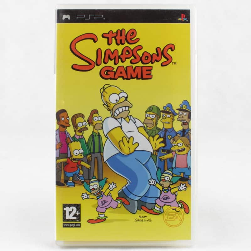 The Simpsons Game (Sony PSP)