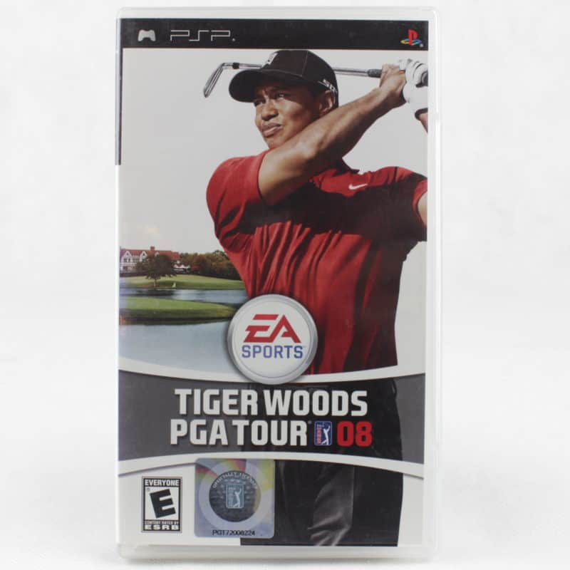 Tiger Woods PGA Tour 08 (Sony PSP)