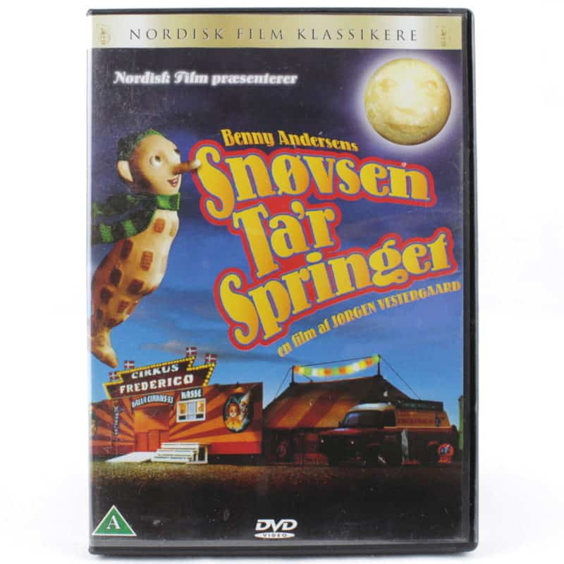 Snøvsen Ta'r Springet (DVD)