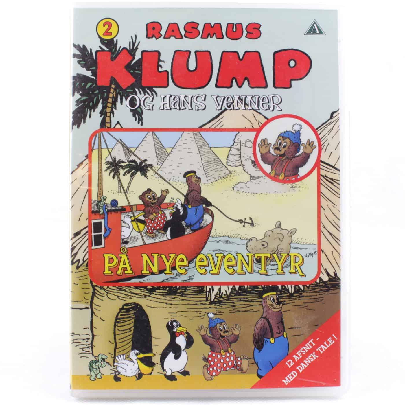 Rasmus Klump og hans venner: På nye eventyr (DVD)