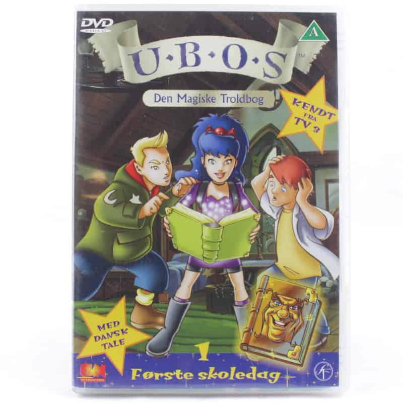 UBOS - Den Magiske Troldbog 1: Første skoledag (DVD)