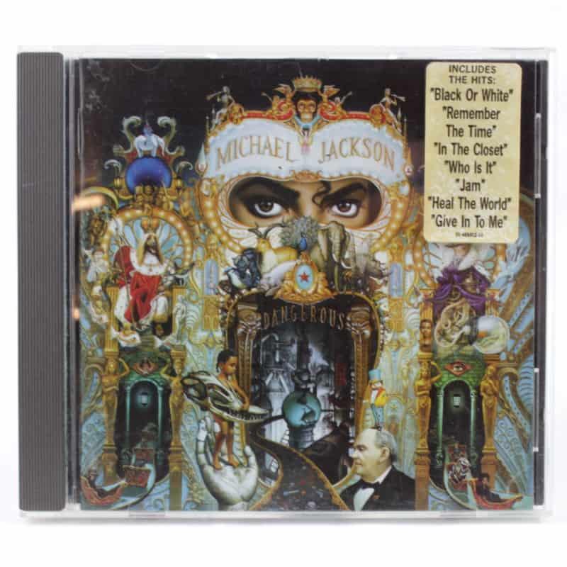 Michael Jackson – Dangerous (CD, 1991)