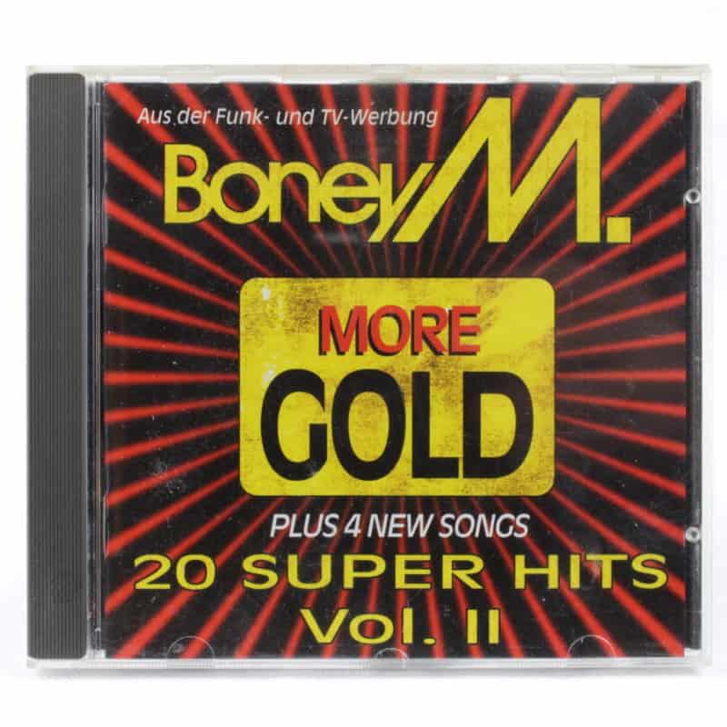 Boney M. – More Gold - 20 Super Hits Vol. II (CD, 1993)