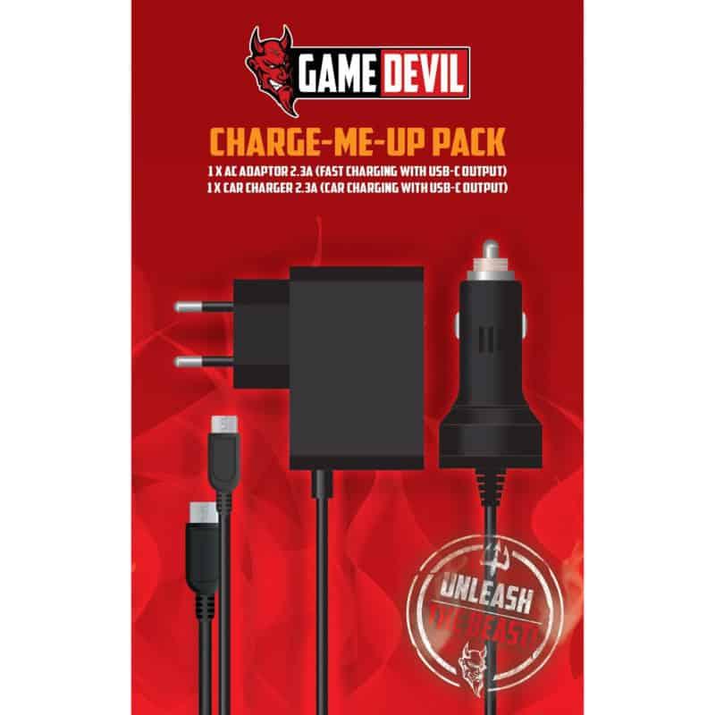 GameDevil Charge Me Up Pack til Nintendo Switch