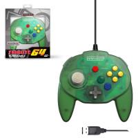 Retro-Bit Tribute 64 Forest Green USB Controller