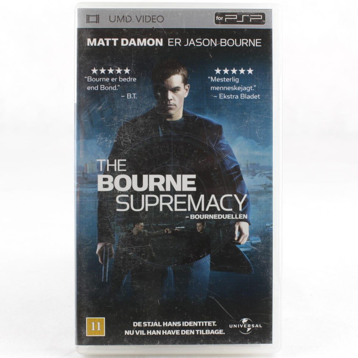The Bourne Supremacy (Sony PSP - UMD Video)