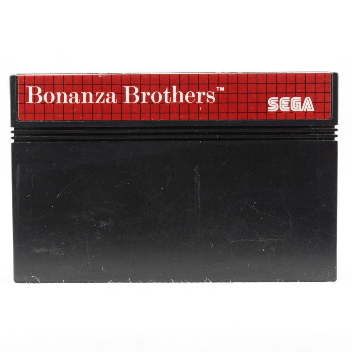 Bonanza Brothers (SEGA Master System - Løs spil)