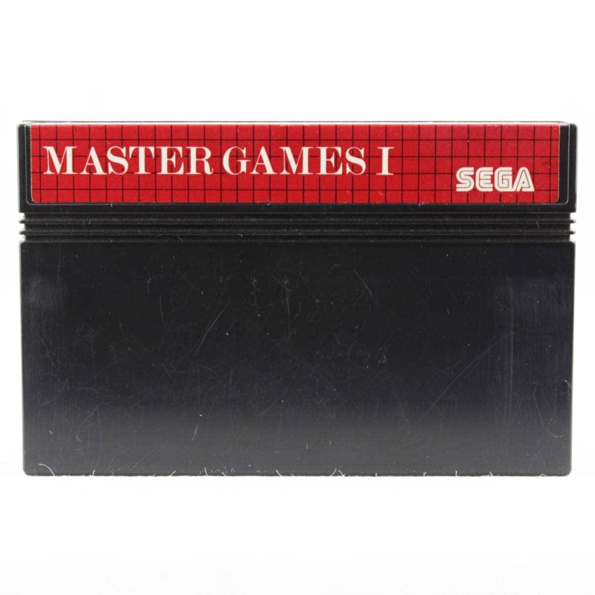 Master Games I (SEGA Master System - Løs spil)