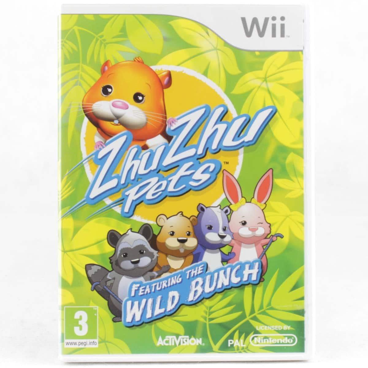 ZhuZhu Pets Featuring the Wild Bunch (Nintendo Wii)