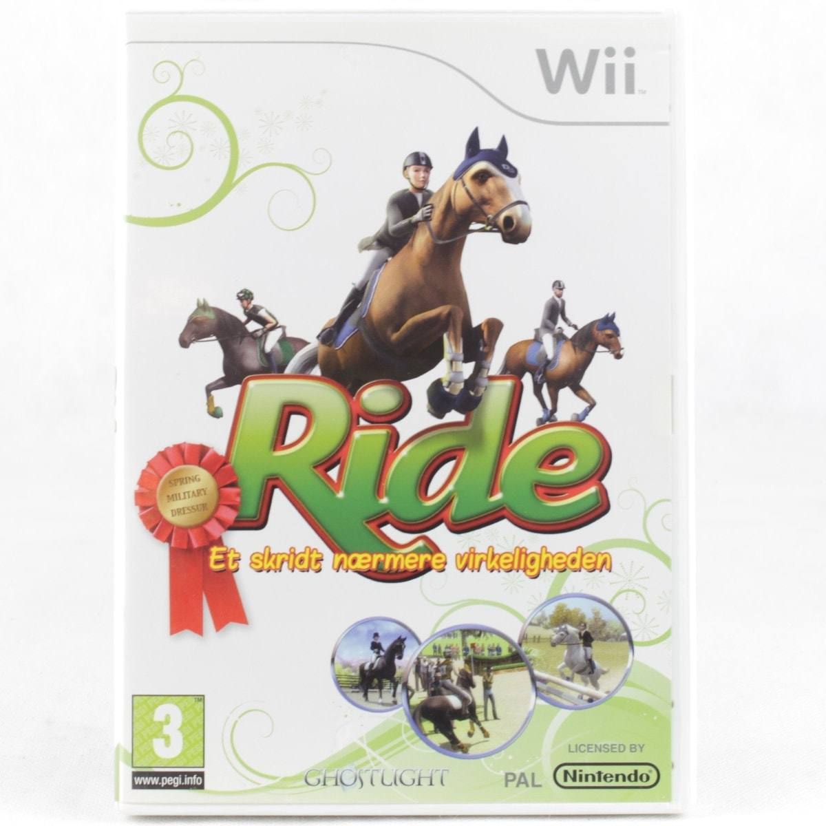 Ride - Et skridt nærmere virkeligheden (Nintendo Wii)