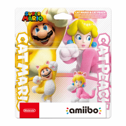 Nintendo Amiibo Cat Mario & Cat Peach (Super Mario Collection)