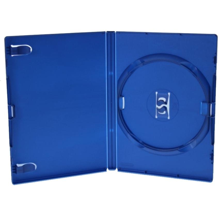 PS2 DVD-boks til 1 disc, BLÅ PP