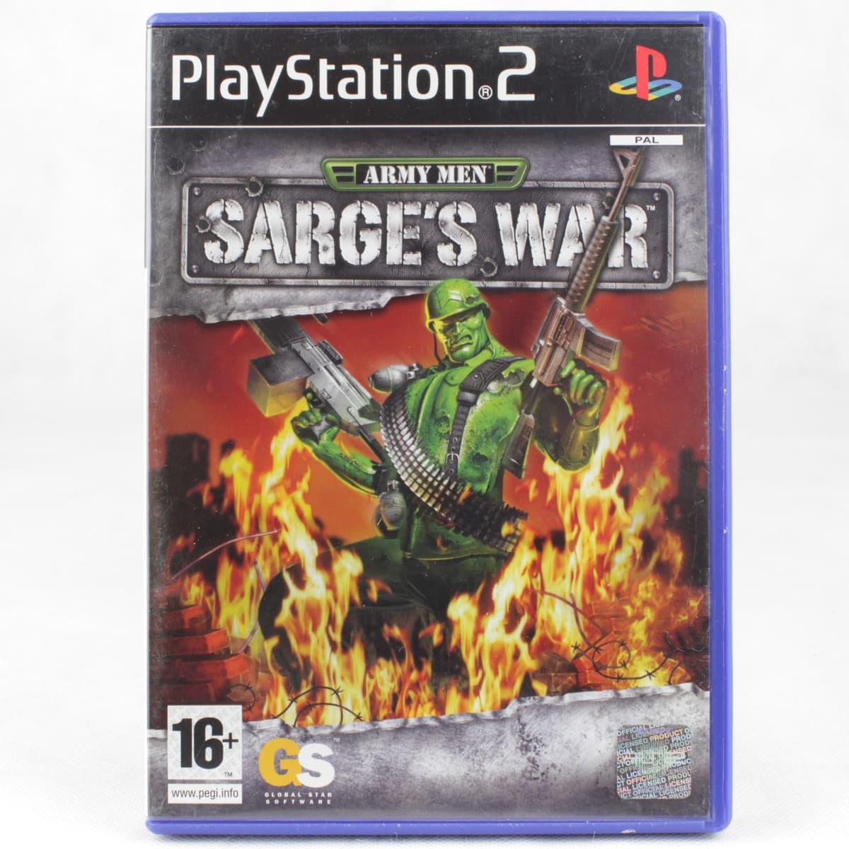 Army Men: Sarge's War (PS2)