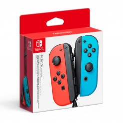 Joy-Con - Neon Red, Neon Blue