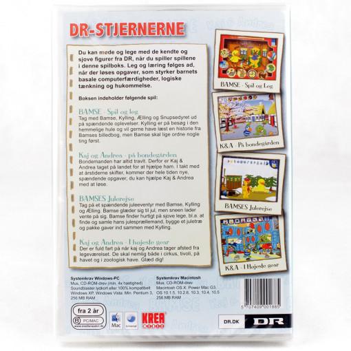 DR-Stjernerne - 4 spil i en boks (PC og Mac)