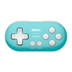 8BitDo Zero 2 Turquoise Edition