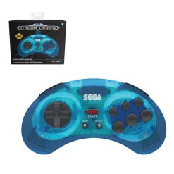 Retro-Bit SEGA Mega Drive Bluetooth Pad Blue
