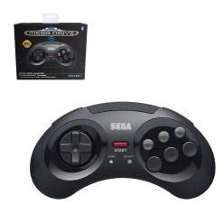 Retro-Bit SEGA Mega Drive Bluetooth Pad Black