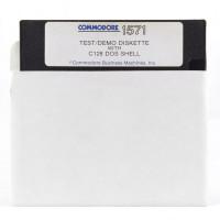 Commodore 1571 Test/Demo + C128 Dos Shell (Commodore 64, Disk)