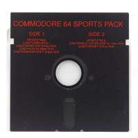 Commodore 64 Sports Pack (Commodore 64, Disk)
