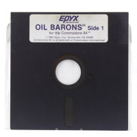 Oil Barons (Commodore 64, Disk)