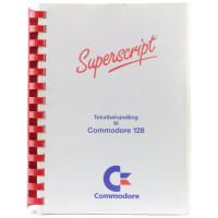 Superscript - Tekstbehandling til Commdore 128 (Manual)
